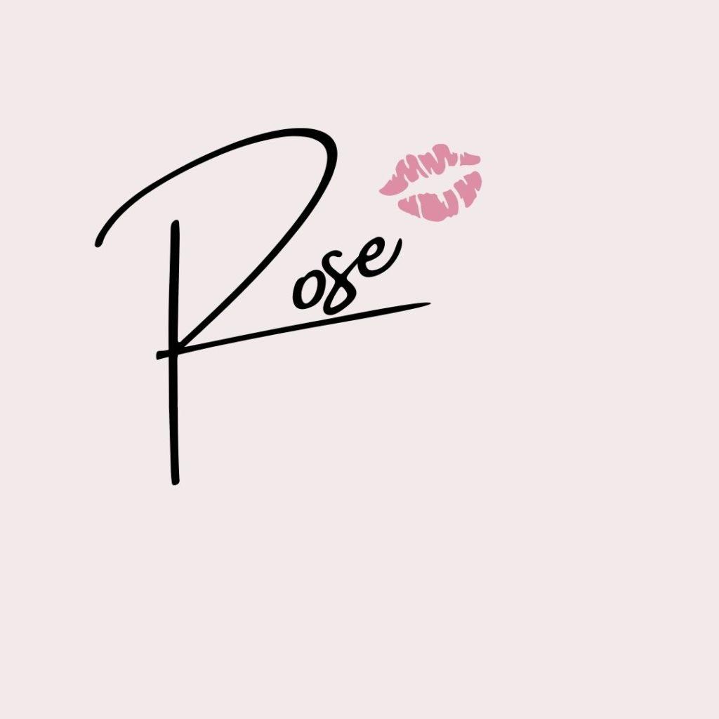 Rose's Signature